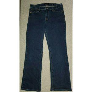 Lucky Brand Denim Sweet Boot Ankle Jeans Dark Wash